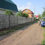 Откатные ворота Алютех, забор, калитка